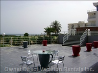 Lounge Terrasse of the Residence (Front of Sea)