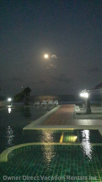 Pool in Moonlight.