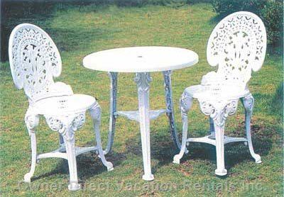 Some of the Patio Furniture