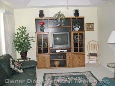 Family Room and Entertainment Center