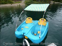 Peddle Boat - Free to Use