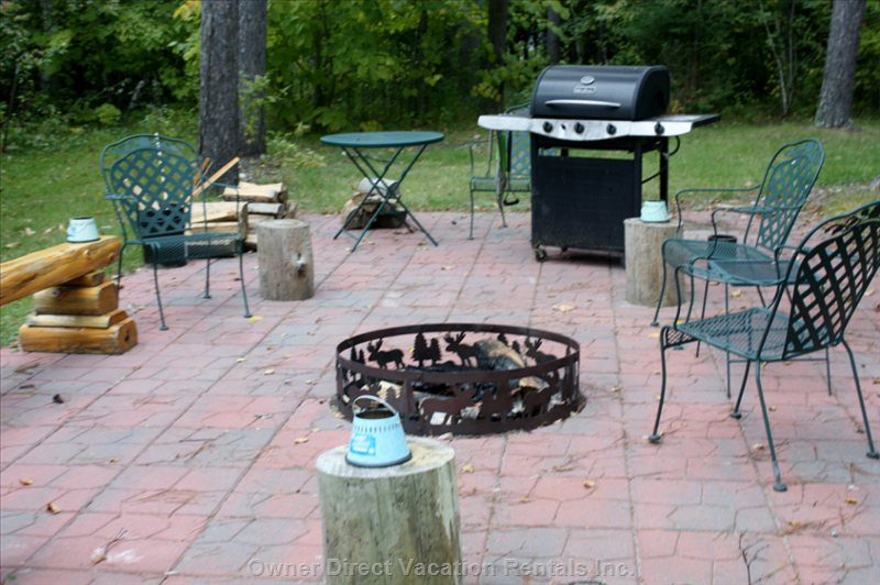 Gas Grill, Firewood