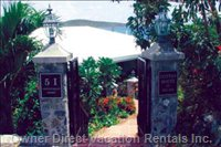 Stone Wall and Gated Entrance Maintain your Privacy