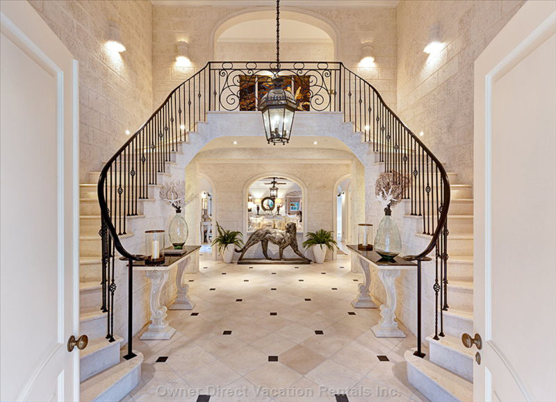 Welcome to Two Floors of Luxurious Caribbean Living