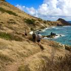 Hike from Pointe Blanche to Guana Bay on the East Coast Trails