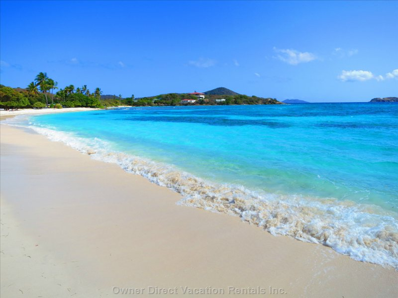 Sapphire Beach - White Sand and Turquoise Water