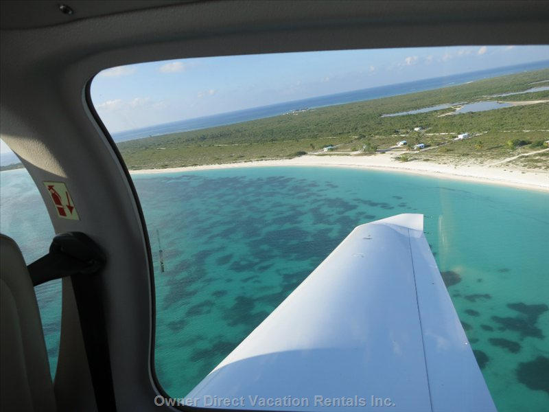 Fly above the Only Coral Island of Bvi - Anegada