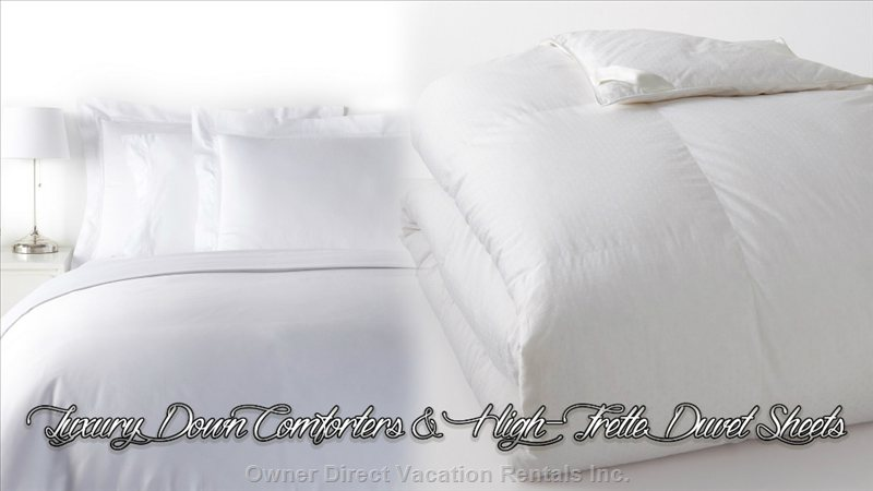 Deluxe down Comforters & High Frette Duvet Sheets