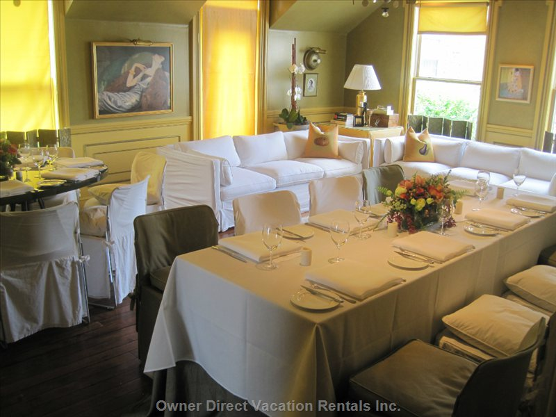 The Park Room Next Door at Restaurant: Ideal for Private Functions.