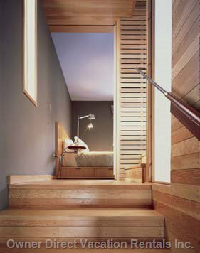 Stairs Leading up to Guest Bedroom.