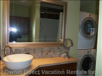 Full Bathroom with In-suite Laundry