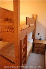 2nd Bedroom: Queen over Queen Bunk