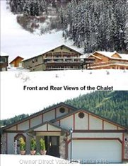 Front and Back of Chalet