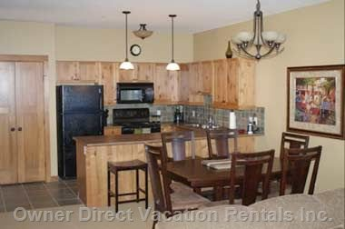 Kitchen and Dining Room - Sun Peaks, BC, Canada