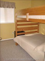 Double/Double Bunks in 'Main House'