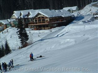 Chalet from the Sunburst Chair Lift