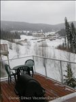 Fabulous View of Sun Peaks Village from the Sun Deck