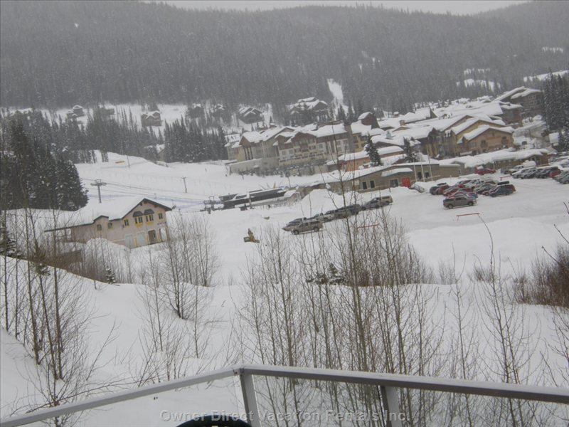 View of Sun Peaks Village