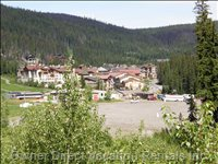 Spectacular View of Sun Peaks Village from the Sun Deck