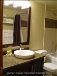 Newly Renovated Bathroom with Granite  Counter Tops