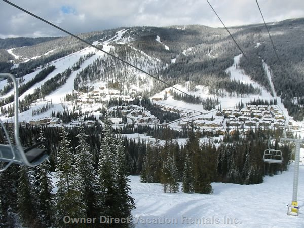 View of Sun Peaks. Photo credit #137218