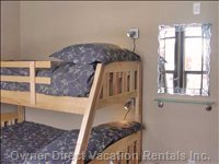 Second Bedroom with Bunks