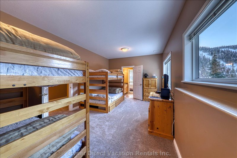 One of Two Bunk Rooms