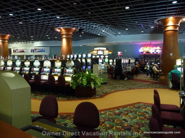 The Casino Located inside the Gulf Stream Entertainment Complex is Only a 10 Minute Drive.
