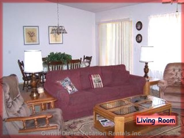 Living Room - Seating for Eight