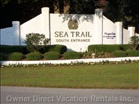 Sea Trail'S South Entrance