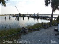 Sunset Beach Swing bridge--1 of a Remaining few in the U.s.