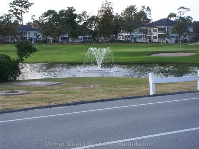 Beautifully Landscaped Areas and Water Fountains Abound