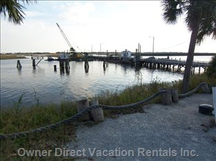 Intracoastal Waterway--a Short Walk Away