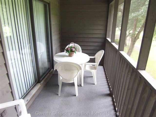 Screened Porch on the Second Floor (1 of 2)