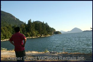 A View from Porteau Cove