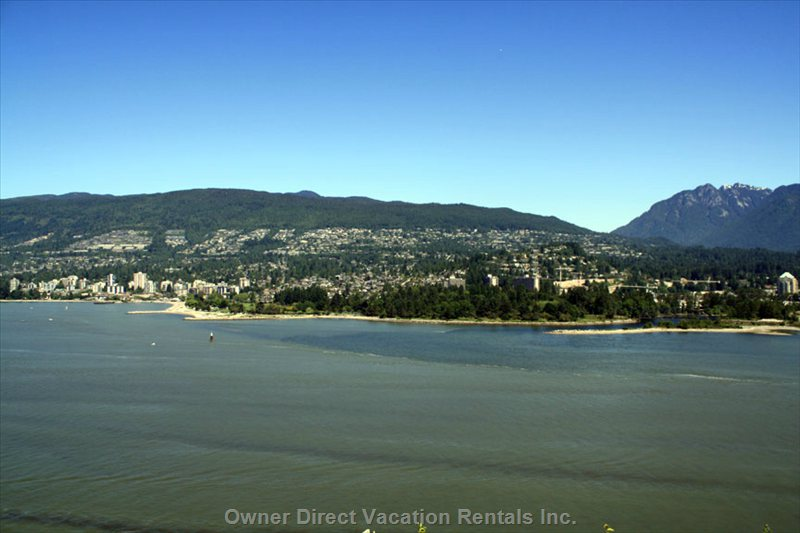A View at Prospect Point in Stanley Park