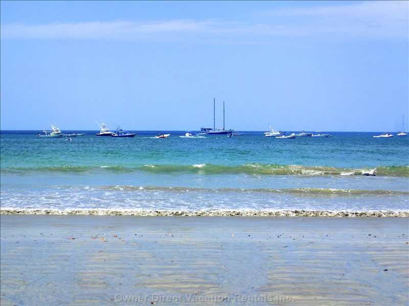 Tamarindo Beach's Beautiful Blue Waters are a Short Walk from the Condo.