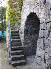 Original Ancient Lava-Stone Entrance