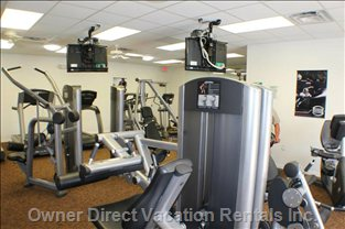 Full Size Gym all with in Walking Distance of the Condo.
