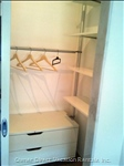 Bedroom: Walk-in Closet