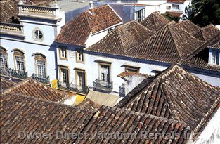 Picturesque Roofs in Tavira'S Historic Center