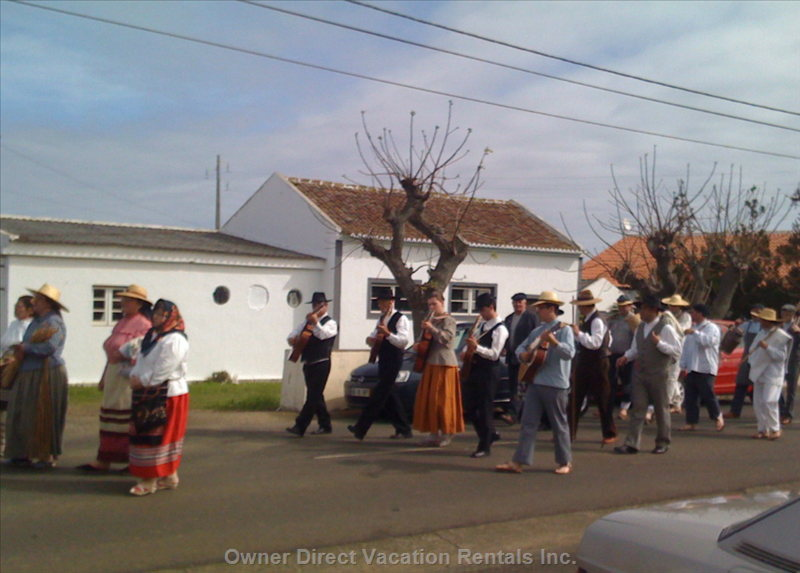 Culture and Tradition in Music and Costume Make There Way through the Village