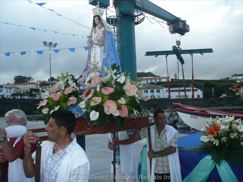 The Procession on the Port for the Festival of Santo Antonio.