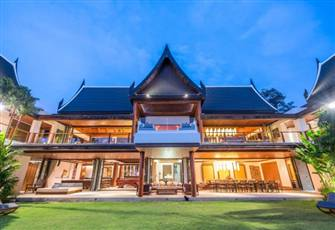 Villa with Infinity Pool, Private Chef, Millionaire's Mile, Kamala Phuket