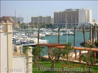 Marina Nearby with Restaurants and Shops Withing Walking Distance