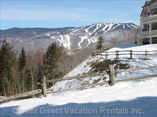 Winter View of Mont Tremblant