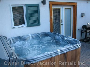 Hot Tub Operational during Ski Season Only.