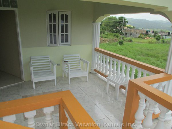 Terrace in the Back of the House - Second Floor