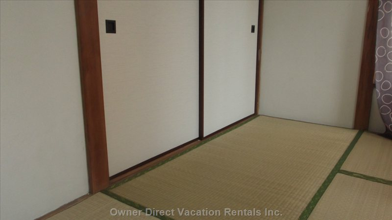 Tatami Mats and Japanese Style Sliding Doors