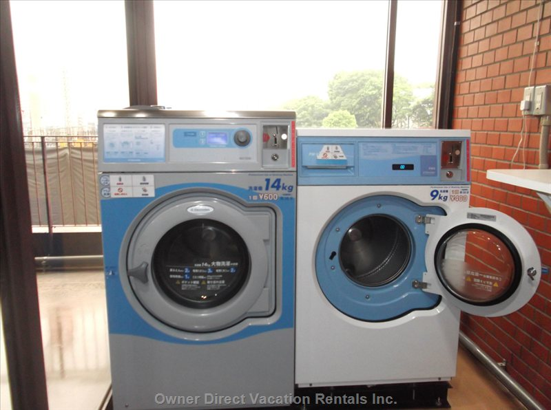 Washers and Driers on the 1st Floor- Coin Operated
